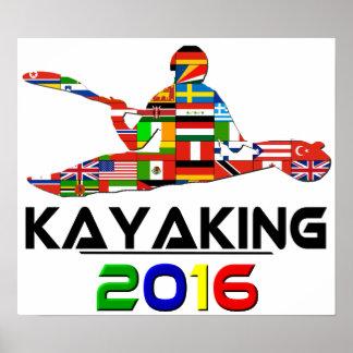 2016: El Kayaking Poster
