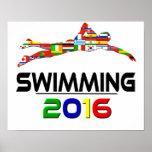2016: El nadar Poster