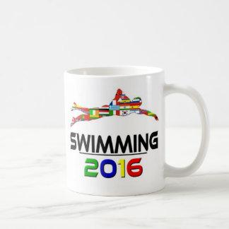 2016: El nadar Taza Básica Blanca