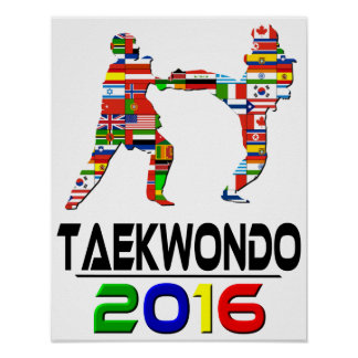 2016: El Taekwondo Póster