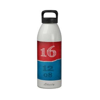 2016 elecciones botellas de beber
