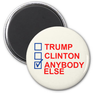2016 Election Ballot 2 Inch Round Magnet