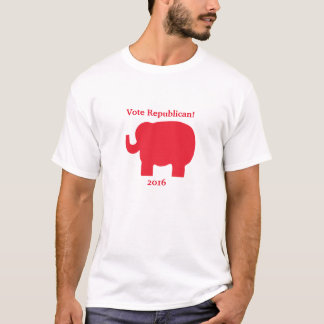 2016 Election Red Elephant Vote Republican T-Shirt