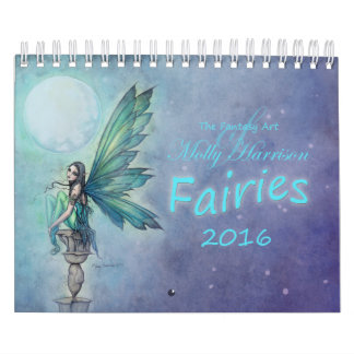 2016 Fairy Calendar by Molly Harrison Fantasy Art