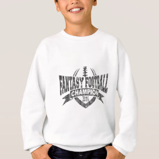 2016 Fantasy Football Champion Football V Outline Sweatshirt