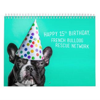 2016 FBRN French Bulldog Calendar