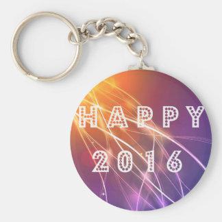 2016 feliz llavero redondo tipo pin