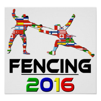 2016: Fencing Poster