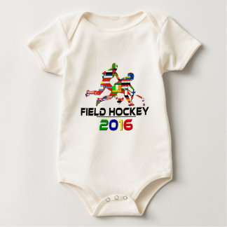 2016: Field Hockey Baby Bodysuit