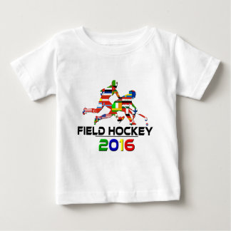 2016: Field Hockey Baby T-Shirt