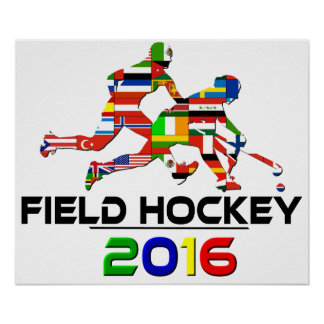 2016: Field Hockey Poster