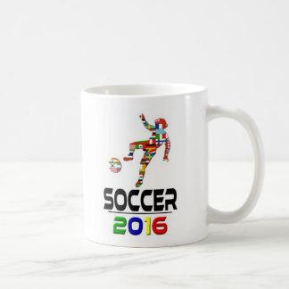 2016: Fútbol Taza Básica Blanca