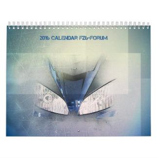 2016 FZ6-Forum Calendar