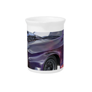2016 Galaxy Purple Muscle Car Beverage Pitcher