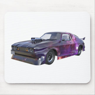 2016 Galaxy Purple Muscle Car Mouse Pad