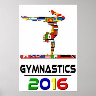 2016: Gimnasia Poster