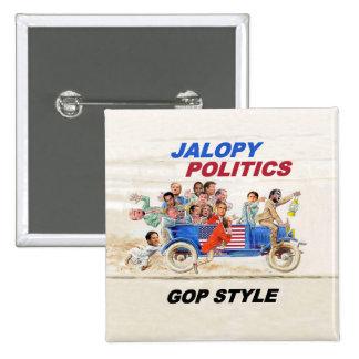 2016 GOP Clown Car Button