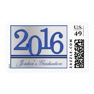 2016 Graduate Silver and Blue Stamp