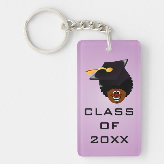 2016 Graduation Domination Keychain