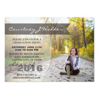 2016 Graduation Party - Let's Celebrate Banner Card