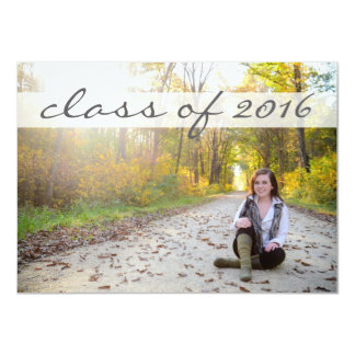 2016 Graduation Party - Sassy Classy Banner Card