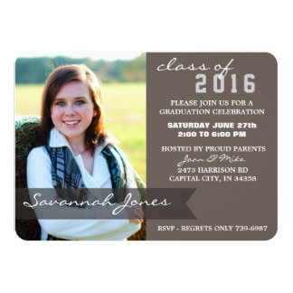 2016 Graduation Party - Time To Celebrate! Card