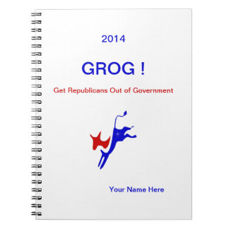 2016 GROG! Notebook.Personalize it! Notebook
