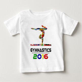 2016: Gymnastics Baby T-Shirt
