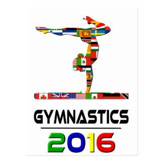 2016: Gymnastics Postcard