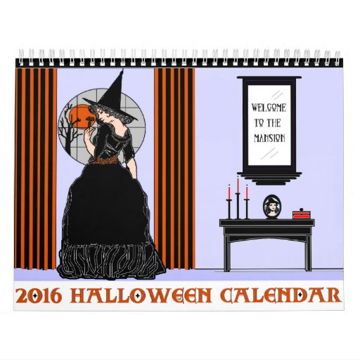 2016 Halloween Calendar Zazzle - 2016 Halloween Calendar
