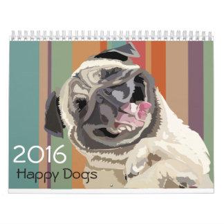2016 HAPPY DOGS CALENDAR
