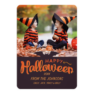 2016 Happy Halloween Custom Card