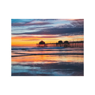2016 HB Sunsets Calendar Cover Canvas Print