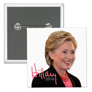 2016 Hillary Clinton for President - Autograph Pinback Button
