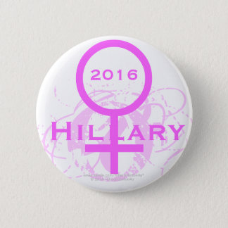 2016 Hillary Clinton from O to H Pinback Button