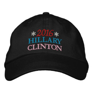 2016 HILLARY CLINTON (Red, White, Blue, Pink) Embroidered Hat