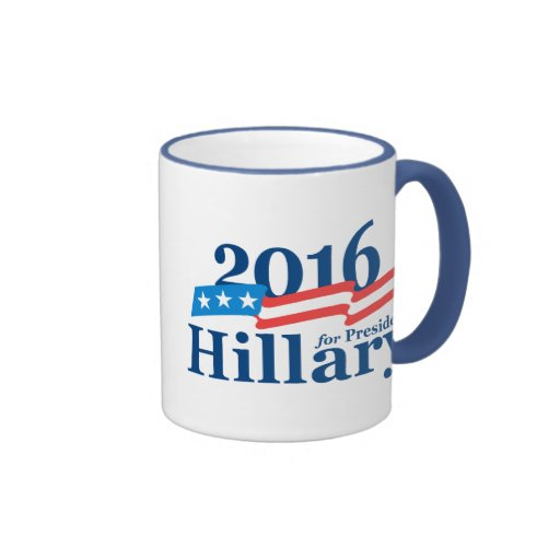 2016 Hillary Ringer Coffee Mug