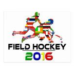 2016: Hockey hierba Postales