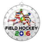 2016: Hockey hierba Tablero Dardos
