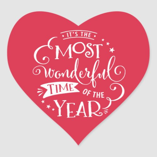 2016 Most Wonderful Time of the Year Sticker
