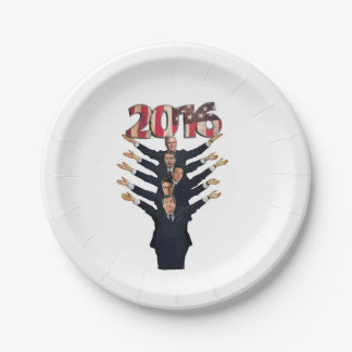 2016 Hopeful Republicans Paper Plate