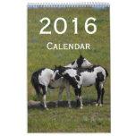 2016 Horse Calendar by Janz