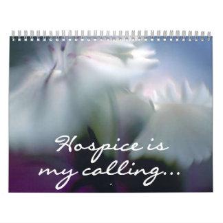 2016 Hospice is my Calling Volunteer Calendar