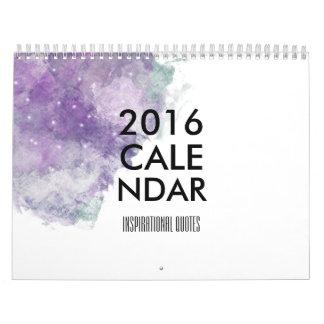 2016 Inspirational Quotes Calendar