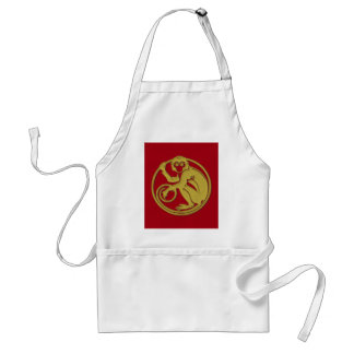 2016 is the year of the monkey - homeware adult apron