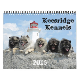 2016 Keesridge Kennels Calendar