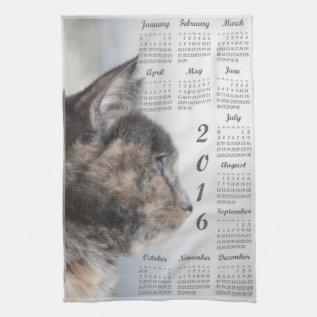 2016 Kitchen Towel Calendar at Zazzle