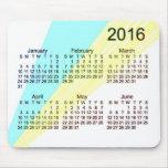 2016 Large Print Calendar by Janz Mousepad