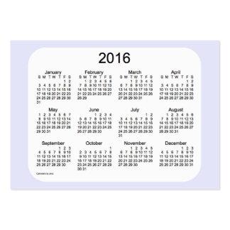 2016 Lavender Calendar by Janz Business Card
