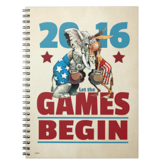 2016 - Let the Games Begin Notebook